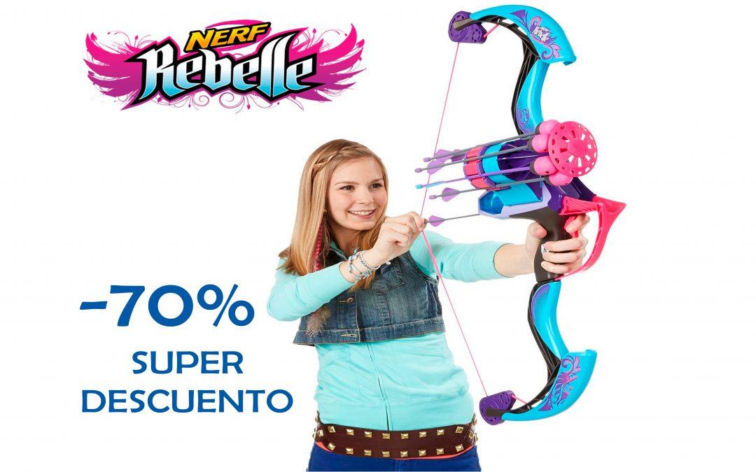 Super descuento +70% en Nerf Rebelle Arrow Revolution Bow
