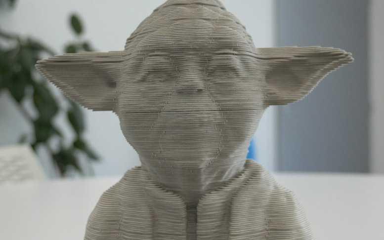 Puzzle Escultura 3D de Star Wars Yoda