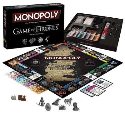 Monopoly Juego De Tronos El Monopoly De Tu Serie Favorita