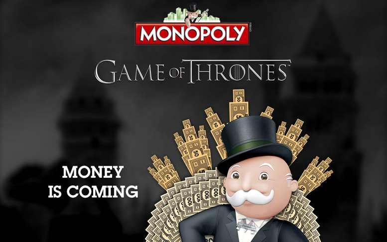 Monopoly Juego de Tronos, ¡el Monopoly de tu Serie Favorita!