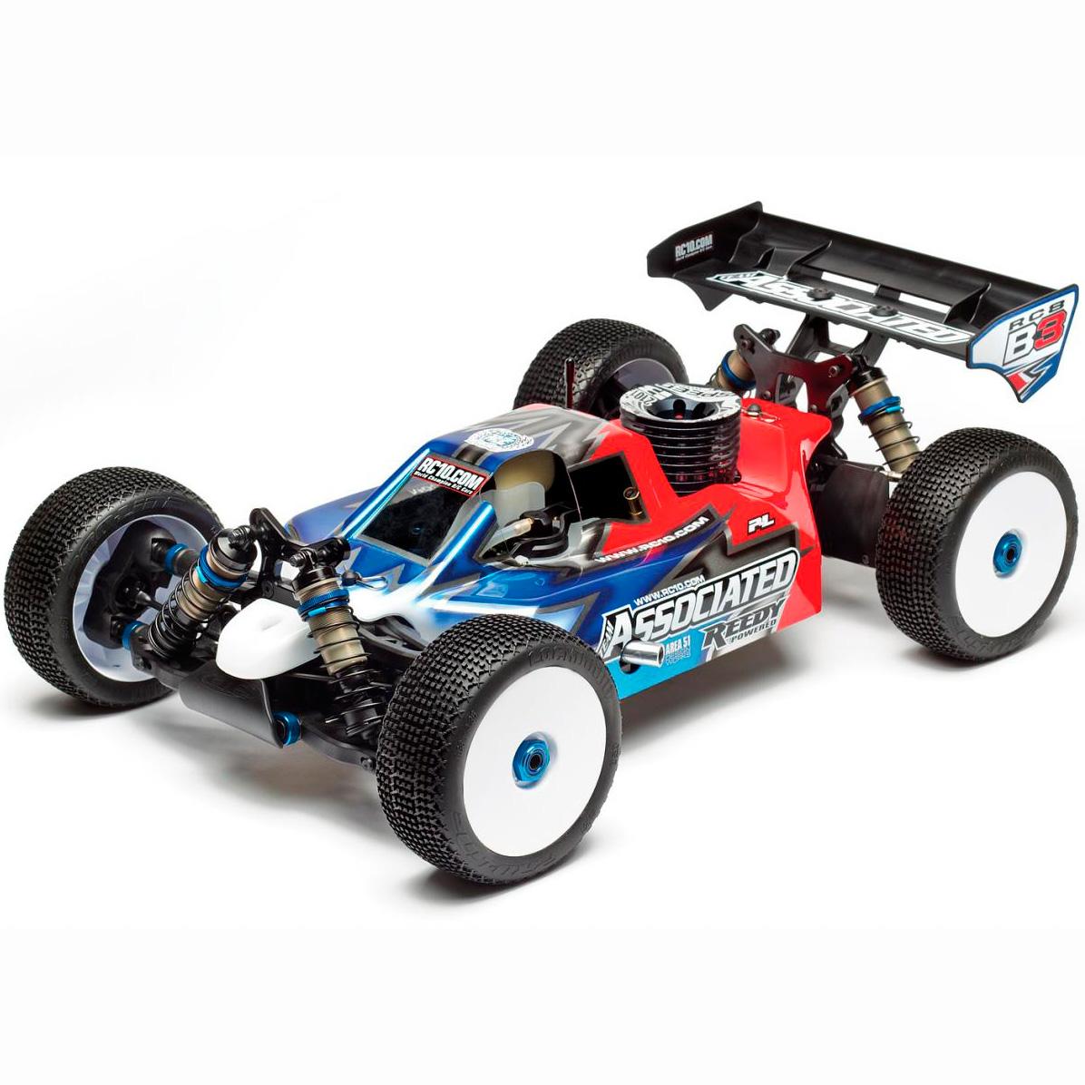 Team Associated RC8B Buggy 1/8 80914 Nitro