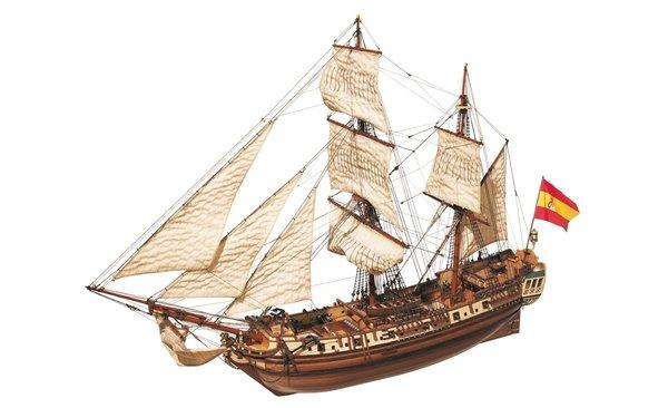 Modelismo naval en madera como hobby para los niños y adultos
