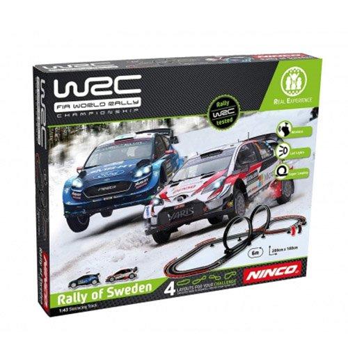 circuito ninco WRC