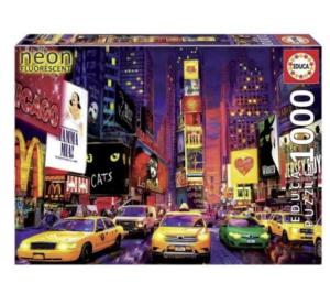 Puzzle 1000 Times Square Nueva York